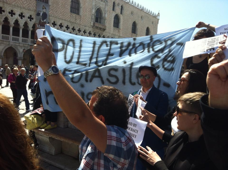 Resist Istanbul – Protests in Venice