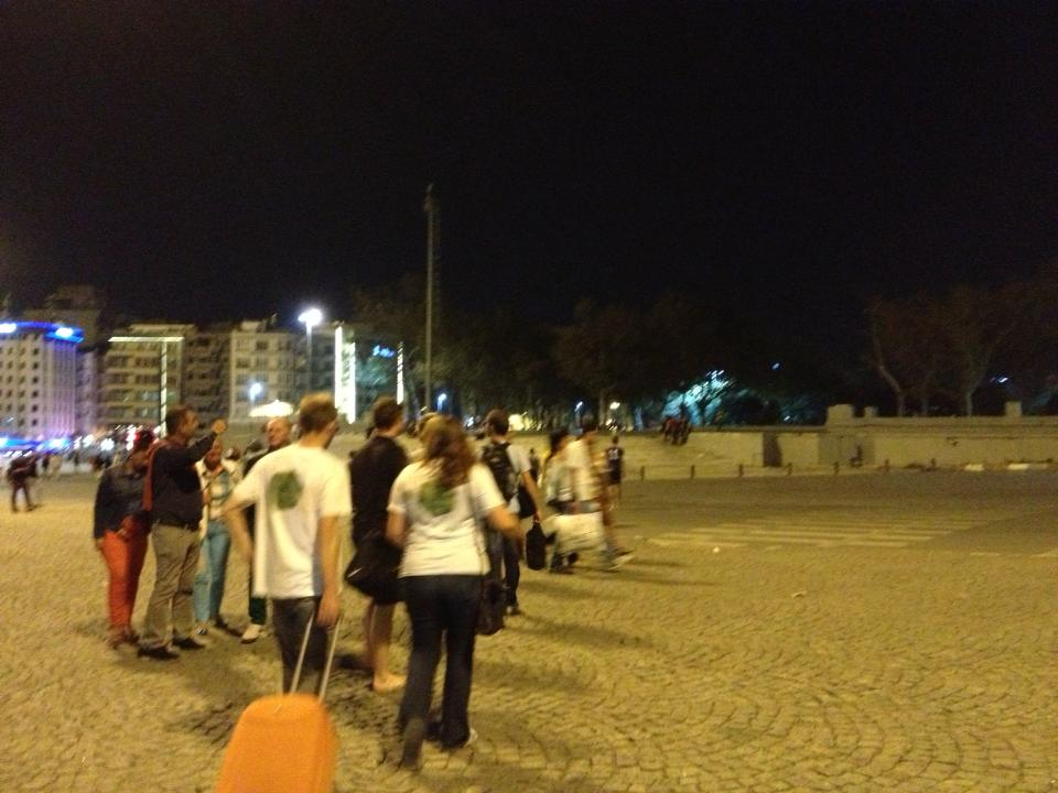 The After Match on Taksim