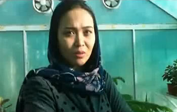 Video Portait of the actress Sabera Rezayee
