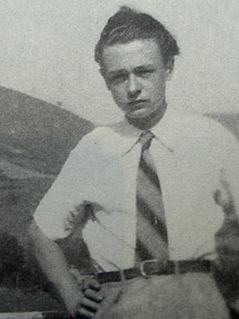 Ivan Chtcheglov at age 22, 1955