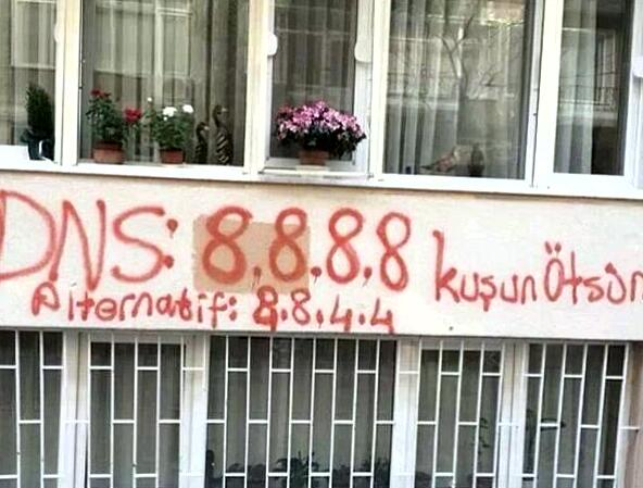 Using graffiti, Turks share tips for getting around youtube ban