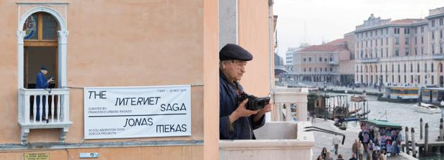 Jonas Mekas at the Venice Biennial
