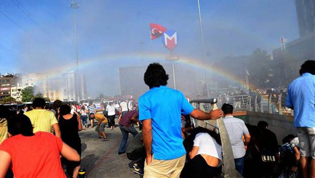 rainbow on taksim